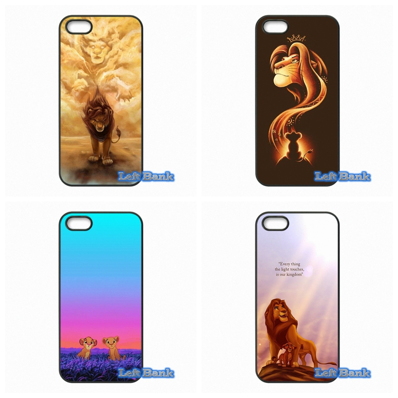 Lion King Hard Phone Case Cover For Samsung Galaxy S S2 S3 S4 S5 MINI S6 S7 edge Plus Note 2 3 4 5