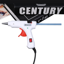 Hot Melt Glue Gun 20W 110V-240V with 7MM*200MM Sticks DIY Thermo Mini Adhesive Repair Heat Tool