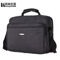 Kissyenia Brand Waterproof Nylon Laptop Briefcase Men Travel Suitcase Bolsa Masculina Business Laptop Men S Briefcase