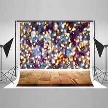 Kate  Christmas Backdrops Photography Bokeh Highlights Photo Background Photography Backdrop Blurry Studio Background kate blue snow photo backdrop christmas with trees bokeh light backdrops fotografia washable and seamless baby shower backdrop