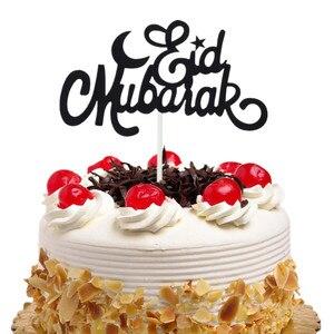 Image 1 - เค้กToppers Flags Glitter Eid Mubarakเด็กวันเกิดCupcake Topperงานแต่งงานBaby Shower PARTY Ramadanมุสลิมเบเกอรี่DIY Xmas