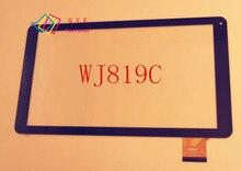 Negro Para IRBIS TZ13 TZ14 3G 10.1 pulgadas tablet pc de pantalla táctil capacitiva del panel de cristal digitalizador