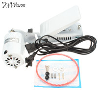 Kiwarm 1.0 Amps White Aluminum alloy Sewing Machine Motor Foot Pedal Controller For Handwork Tools Accessories New 110V 110W
