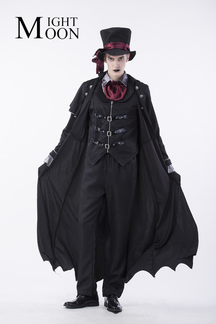 moonight gothic vampire costume costume vampire costume men masquerade party halloween cosplay stage costume