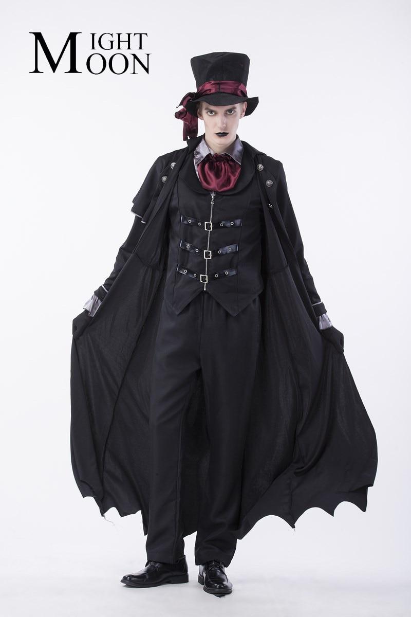 MOONIGHT Gothic Costume Costume Men Masquerade Party ...