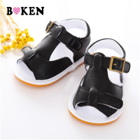 BOKEN Infant Toddler Newborn Baby Soft Rubber Soled Shoes Kids Crib Outdoor First Walkers Shoes