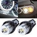 Para BMW E90 E91 Série 3 325i 328i 325xi 328xi 330i 06-08 excelente Qualidade xenon white LED Angel Eyes o Halo lâmpada Nenhum Erro