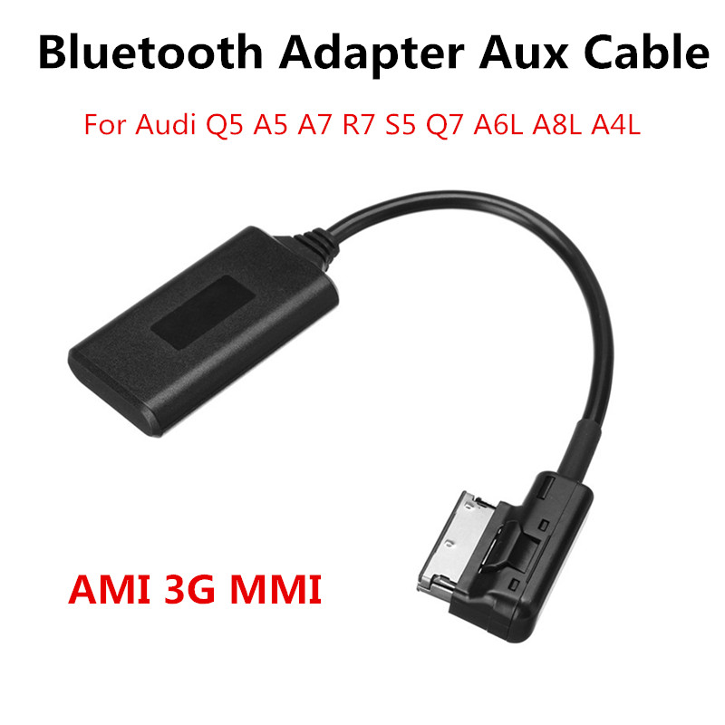 AMI MMI Bluetooth Music Interface AUX Audio Radio Cable Adapter For Audi Q5 Q7