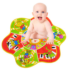 Play Mats Musical Carpet Big Size 61*70cm Puzzles Baby Toys Crawling Mat Educational Musical Blanket Instrument Toys(China)