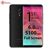 Umidigi S2 4 г телефон Android 6.0 6.0 дюймов helio P20 Octa core 4 ГБ Оперативная память 64 ГБ Встроенная память 13.0MP + 5.0MP двойной камеры заднего Тип-C Телефон