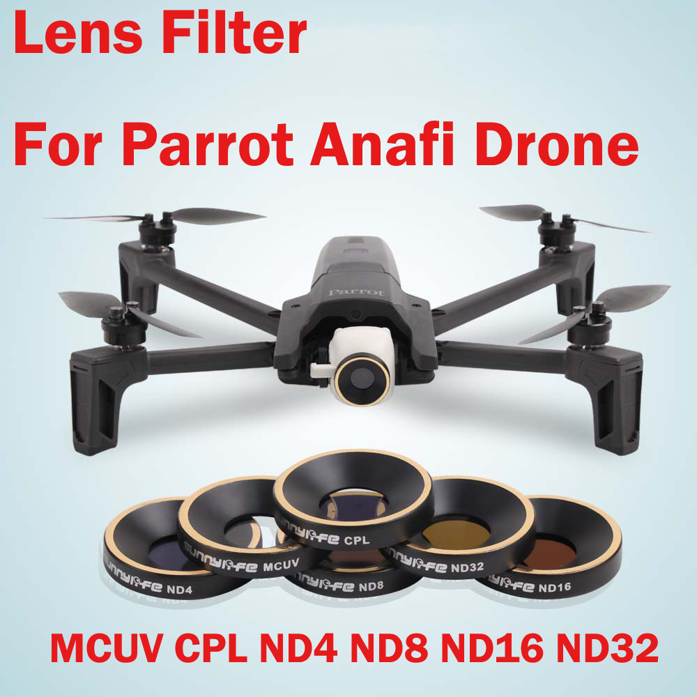 Parrot Anafi Drone Filter MCUV CPL ND4 ND8 ND16 ND32 Camera Lens for Accessories