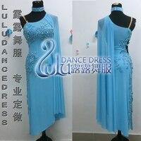 Костюмы для латиноамериканских танцев Танцы Платья для женщин Для женщин высокое качество индивидуальный заказ классические кисточкой эт