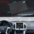 7 Inch GPS Navigation Screen Steel Protective Film For Chevrolet Captiva Control of LCD Screen Car Styling Sticker