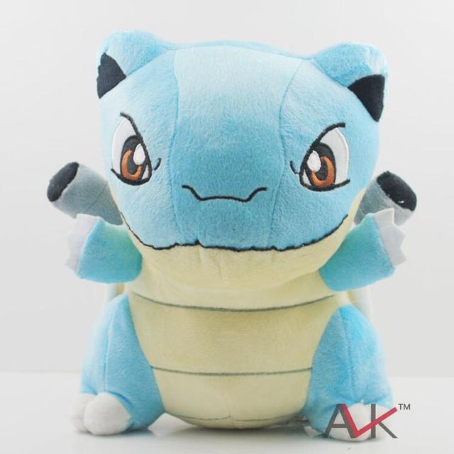 26 cm Lindo Pokemon Blastoise Suave Peluche de Felpa Figura de Acción Juguetes Muñecas Colección Mundial Para Regalo de Los Niños