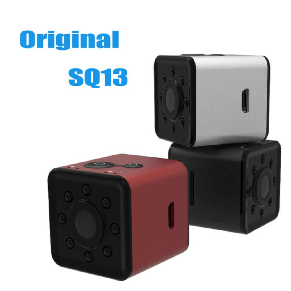 Night Vision wideo dyktafon SQ11 SQ13 SQ16 SQ19 Mini kamery DV mikro kamera sportowa samochód DVR Mini kamera akcji kamera