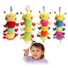 Newborn Baby Musical Pull Ring Toy Bed Hanging Pull Ring Soft Plush Doll Hand Grasp Music Toy Newborn Baby Dolls Gift