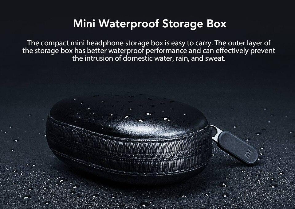 Original Xiaomi Mi Bluetooth Earphone mini Version Sport Wireless Headset IPX4 Waterproof Bluetooth 4.1 Headset (17)