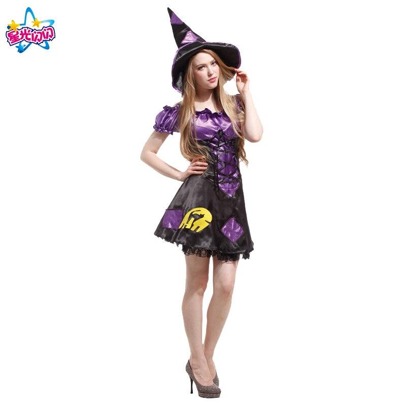 Gratis frakt Mode Halloween Kostym Vuxna Kvinnor Sexig Plus Storlek - Maskeradkläder och utklädnad - Foto 5