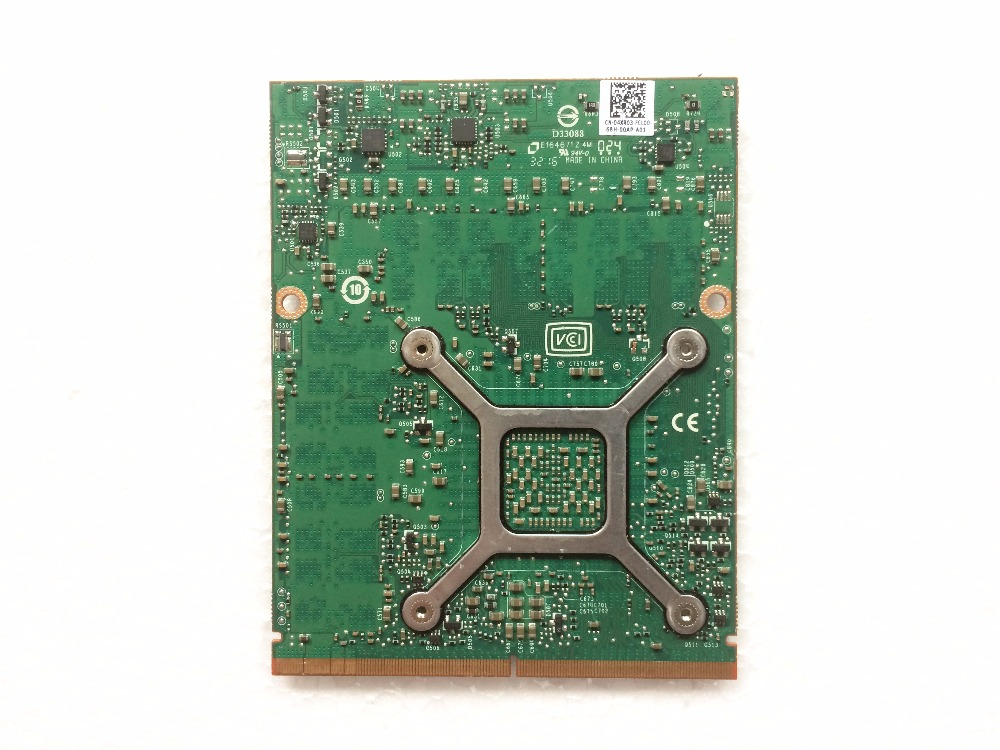 Quadro M4000M 4GB GDDR5 MXM 3 0b Card N16E Q3 A1 CN 04XR03 04XR03 4XR03 for