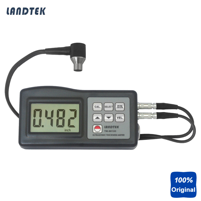 Ultrasonic Thickness Gauges Metal Thickness Measurement (1.2 225mm,0.05 8 inch) TM8812
