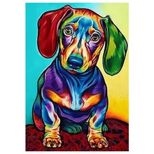 Diamond Painting Dog Mosaic Embroidery Full Square 5D Decoration Cross-Stitch drop shipping