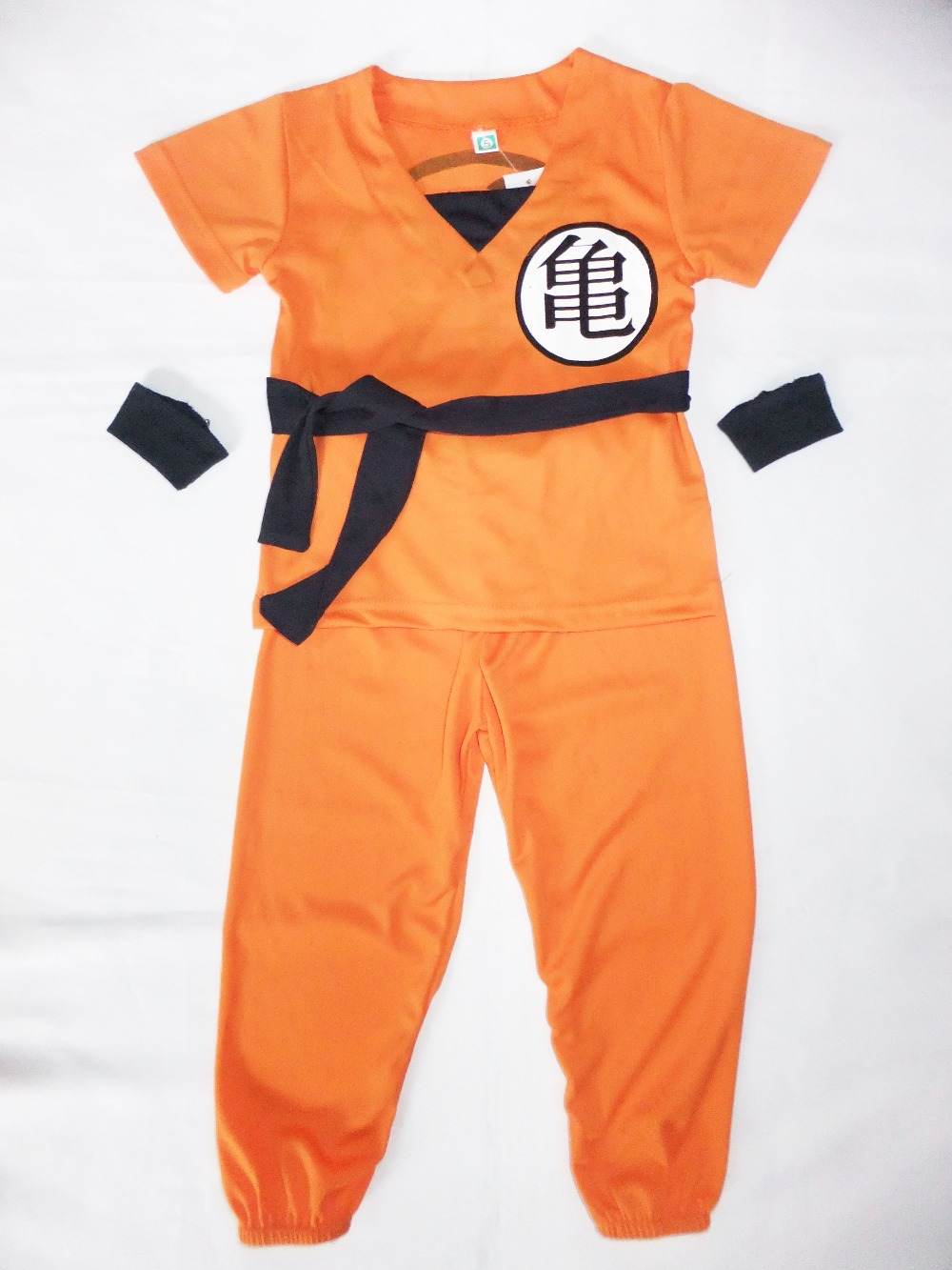 wholesale Cartoon Dragonball 3-7years Boy Saiyan Role-playing cosplay,Halloween costumes kid Star SON GOKU model clothing