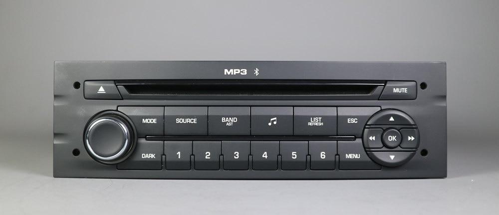 Genuine Original Large Panel RD45 Car Radio With CD USB Bluetooth Aux MP3 For Peugeot 207 206 307 308 807 Citroen C2 C3 C4 C5 C8