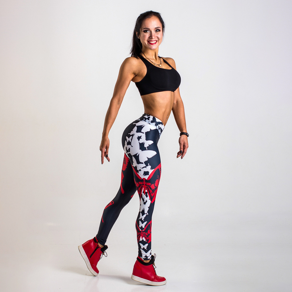 2018 Women Fitness Sport Running Pants Active Wear Ladies Leggings Leggins Gym Workout Jogging Aerobic Sports Clothing