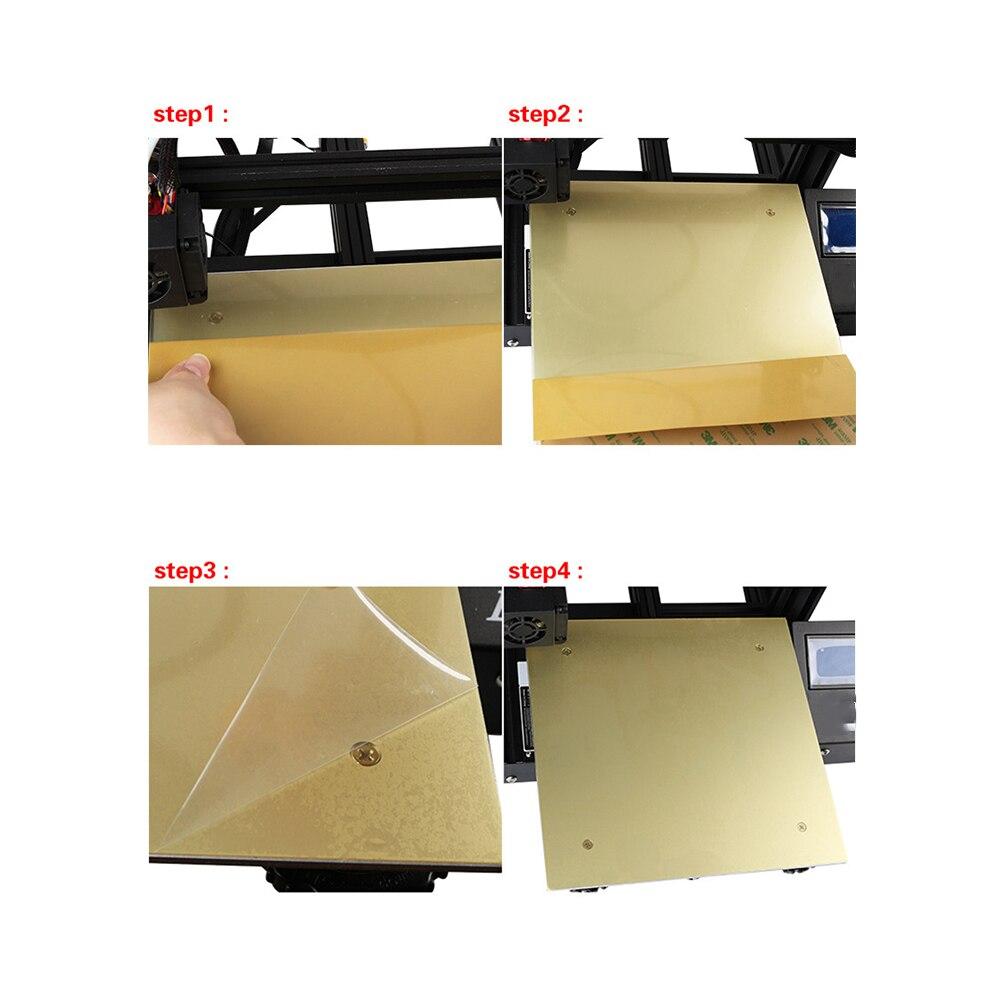 Imprimante 3D Flexible utile lit chauffant PEI feuille imprimante 3D plate-forme amovible imprimante 3D Surface