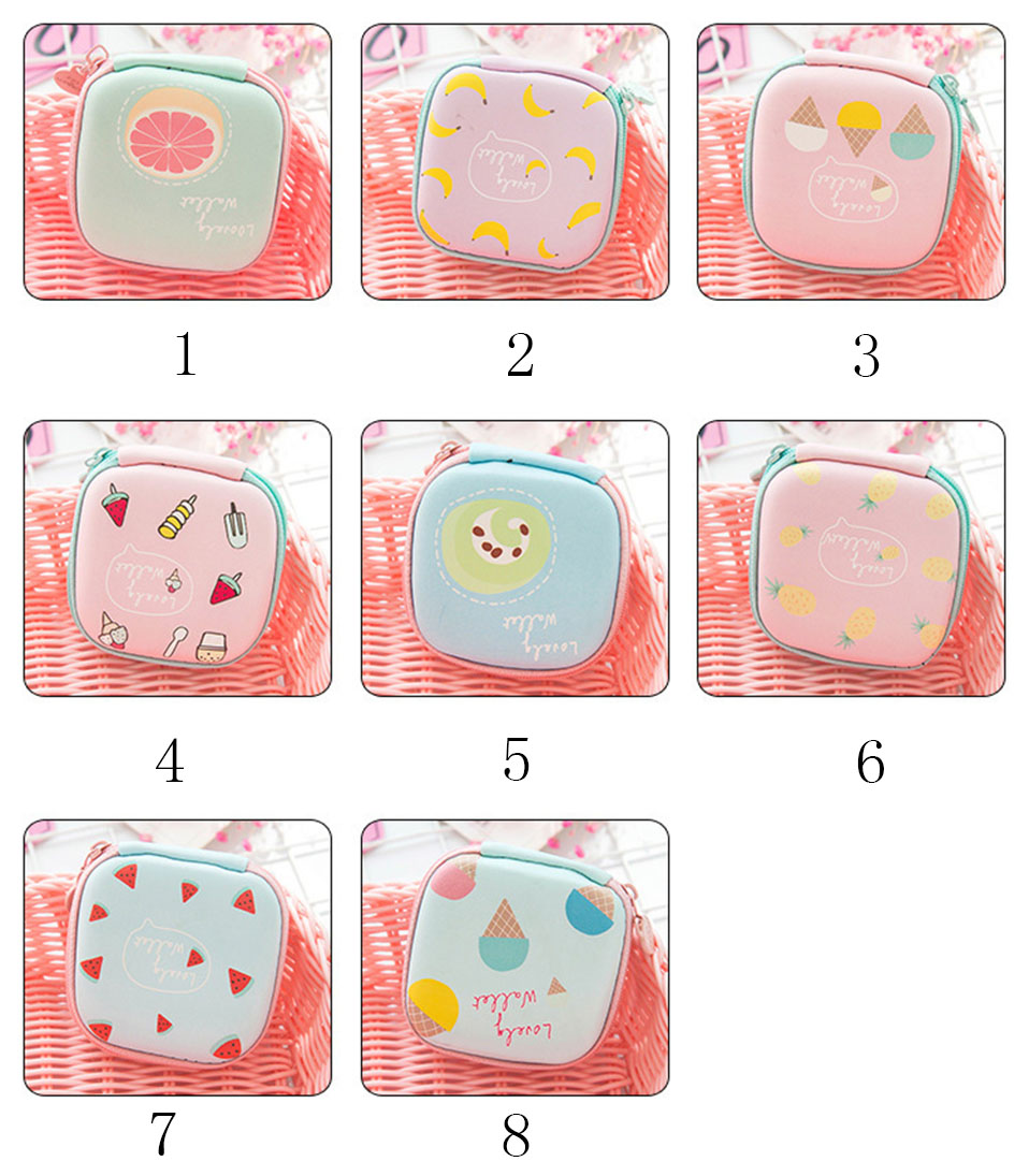 New Cute Electronic Digital Storage Bag Case For Earphone EVA Headphone Container USB Cable Earbuds Storage Box Pouch Bag Holder (2)