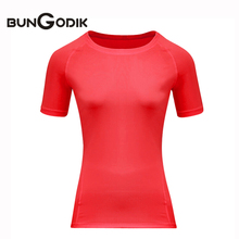 Sports Jerseys Female Fitness for Women Yoga Top Compression Female T-shirt Running Tights Top Gym Clothes Yoga Quick Dry Shirt