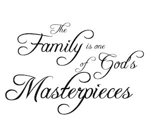 Bible Quotes About Family The Family Is One Of Gods Wall Decals bible wall decals Lord Gods  Bible Quotes About Family