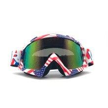 a2a7879470cd6 Profissional de Alta Qualidade Motocross Goggle Motocicleta Óculos Ao Ar  Livre Óculos Esportivos Para ATV Moto