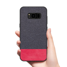 CoolDeal for Samsung Galaxy S8 case S8 Plus back cover soft silicone edge shockproof fabric case for Samsung Galaxy S8 Plus S8+ цена и фото