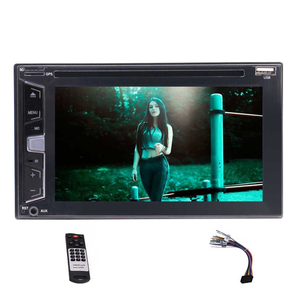 Wireless Camera Eincar Double two din Car Stereo Autoradio Head unit FM AM RDS font b