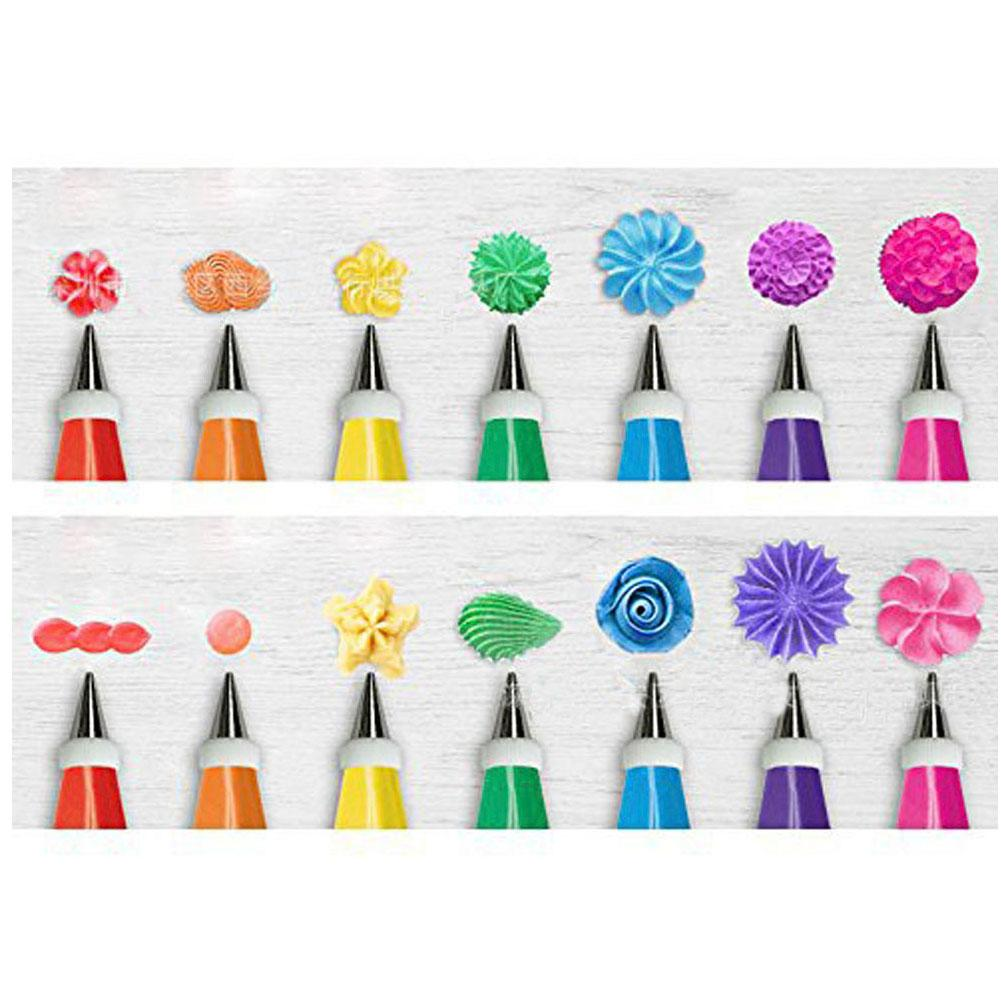 48Pcs set Cake Decorating Good Quality Stainless steel Icing Piping Nozzles Pastry Tips Set Cake Baking