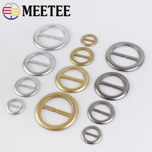 MEETEE NEW 10pcs Direct Selling 20mm-50mm Belt Buckle Bag Accessories Adjustment  Parts Package With Resin F3-39