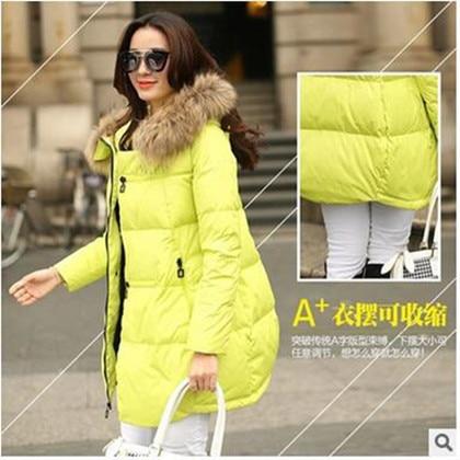 Winter jacket women 2016 new winter coat  thickening warm female down jacket hooded long women's parkas down coats A298