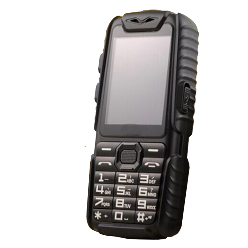 WaterProof GuoPhone A6 Rugged Power Bank Phone With 2 4 Shockproof 0 3MP Loud Speaker Flashlight