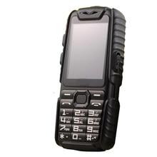 """Wasserdichte GuoPhone A6 Robuste Energienbank Telefon Mit 2,4 """"Stoßfest 0.3MP Lautsprecher Taschenlampe Dual SIM Senior Außen Telefon"""
