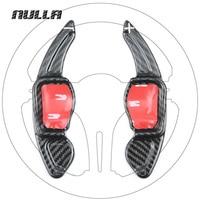 NULLA Carbon Fiber Car Accessories Steering Wheel Extension Interior For Volkswagen VW Golf 6 GTI Tiguan