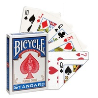 1 Deck Bicycle Double Face Number Playing Cards Gaff Standard Magic Cards Special Props Close Up