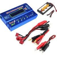 Build Power iMAX B6 LCD Screen Digital RC Lipo NiMh Battery Balance Charger +B6AC Lipo Charging XT60 / T Plug Adaptor Board 2 6S