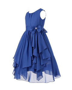 Image 4 - 4 14Y Kids Girls Princess Pageant Wedding Bridesmaid Party Chiffon Girls Flower Dress Princess Formal Occassion Floral Dress