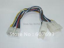 Yatour 5 + 7 pin adaptador y cable divisor para el cambiador de CD puerto Grande ocupado por ajuste de Navegación o XM toyota lexus