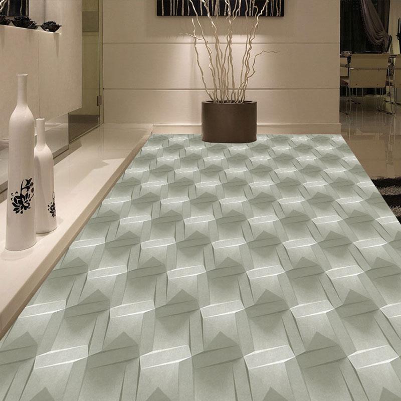 Modern 3d stereoscopic floor painting mural living room - Waterproof floor paint for bathrooms ...