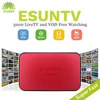 1 Year IPTV Included ESUNTV AVOV TVONLINE IPTV box Android Set top box Italy IPTV Germany Sweden Albania Potugal IPTV