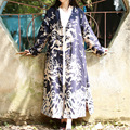 SERENAMENTE Chaqueta 2016 Otoño Tendencia Nacional de Diseño Original de la Mujer Dragón Totem Impreso Cardigan Mujeres Abrigo Abrigo de La Vendimia S55
