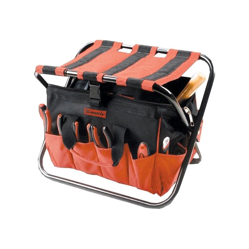 цена на Foldable chair bag for tools MATRIX 90249