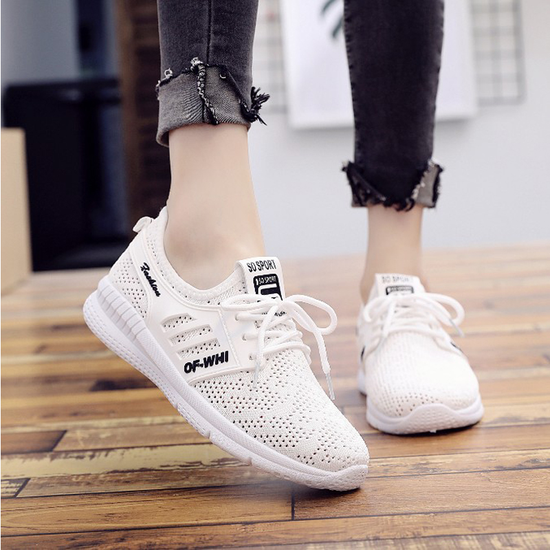 MYNEYGRE Running Shoes For Women Sneakers 2018 Summer Breathable Mesh Light Slip-On Shoes Woman Cheap Outdoor Sports Shoes